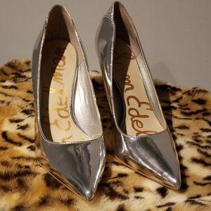 Sam Edelman Silver Heels
